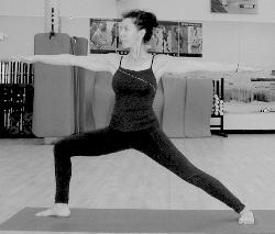 MyLinda in  Virabhadrasana 2 - Warrior 2