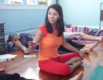 MyLinda leading meditation