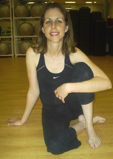 Tracy Mead Gold's Gym Mount Dora Yoga Student